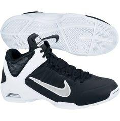 Nike Women's Air Visi Pro IV Basketball Shoe - Black/White | DICK'S Sporting Goods