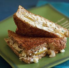 Grilled Brie, Turkey & Pear Sandwiches - an idea for the panini maker.