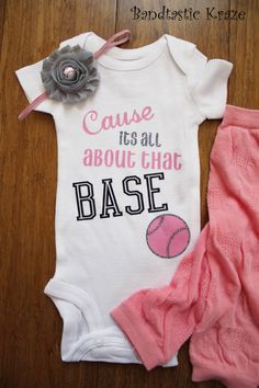 Baseball onesie Onesie outfit vinyl onesie by BandtasticKraze Baseball  Onesie 6538cec00