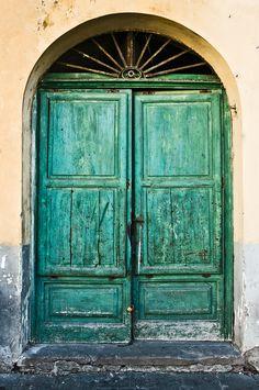 Green Door by Elka Nilsson