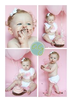 1st birthday pictures. Like the bib and bloomers only in pics!
