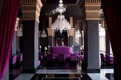 Hotel Selman, Marrakesh - a modern, morrocan style, luxury hotel! Commercial Design, Commercial Interiors, Riads In Marrakech, Marrakech Morocco, Marrakesh, Morocco Hotel, Urban Deco, Luxury Hotel Design, Luxury Hotels