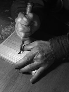 彫刻家、職人/ engraver, craftsman