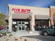 Five Guys   39 Fast-Food Restaurants Definitively Ranked From Grossest To Least Gross