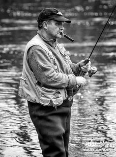 Fly Fishing and a cigar, summer in Colorado