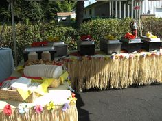 Luau Buffet! Let AA Executive Catering Help You Theme it Like You Mean it!