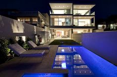 luxury modern mansion