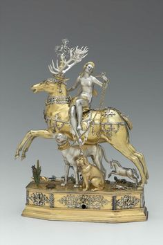 Diana and Stag Automaton.Joachim Fries, 1610-1620. The Museum of Fine Arts in Boston, Massachusetts, USA.