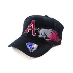 Black Arkansas Razorbacks Hat http://shop.crackerbarrel.com/Black-Arkansas-Razorbacks-Hat/dp/B008FC5IB6