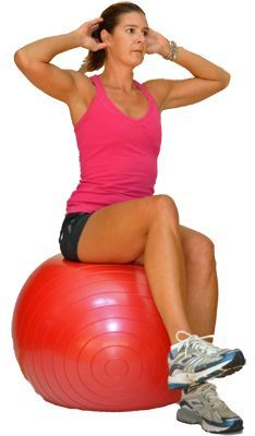 Fitness Beginner Exercise Ball Workout for Balance, Stability and Strength - The exercise ball is an excellent tool to build strength, balance, and stability. Try this beginner ball workout to get started. Fitness Workouts, Yoga Fitness, Fitness Tips, Physical Fitness, Fitness Style, Fitness Outfits, Fitness Quotes, Fitness Tracker, Weight Loss Meals