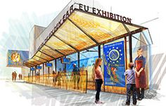 EU Pavilion Expo Milan 2015
