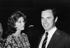 Bradford Dillman and Suzy Parker. They met on the set of Circle of Deception in 1960. Her third marriage, his second and they were together from April 1963 till she died in May of 2003.  They retired from Hollywood pretty much and he now writes. They had 40 wonderful years and he has not remarried. True love and devotion can exist, even in Hollywood.