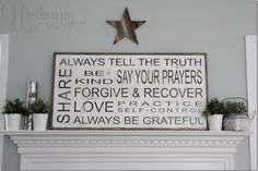 Summer_mantel_decor_with_handpainted_ sign2