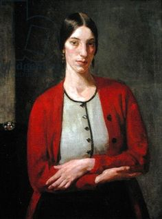 Portrait of Winifred Knights by Arnold Henry Mason