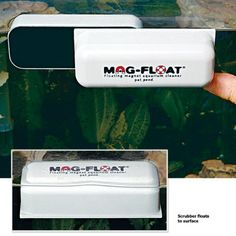 Small Suitable For Men And Women Of All Ages In All Seasons No Wet Hands! 2019 New Style Mag-float 30 Floating Aquarium Glass Cleaner