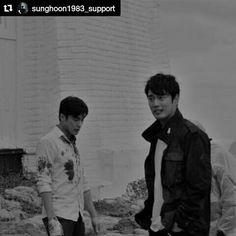 31 個讚,1 則留言 - Instagram 上的 Debbie Moh(@debbie_moh):「 #Repost @sunghoon1983_support ・・・ [ New BTS ] ** COMING SOON ** #SUNGHOON #MOVIE  #돌아와요부산항애… 」