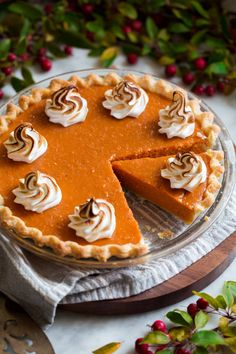 The perfect Sweet Potato Pie recipe! Made with a flaky, buttery pie crust and a lightly spiced, perfectly sweetened, browned butter sweet potato pie filling. Sweet Potato Pie Filling, Sweetened Whipped Cream, Homemade Marshmallows, Toasted Marshmallow, Cupcakes, Mashed Sweet Potatoes, Sweet Tarts, Pie Recipes, Desserts