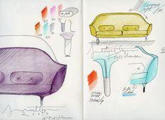 Fritz Hansen sketch © Jaime Hayon