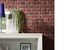 Old British Brick - Aged - Decorative Wall Covering - 1m²/panel
