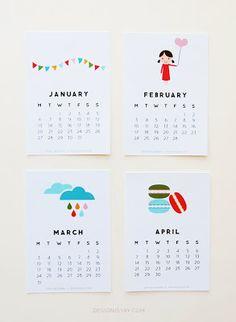 Calendaris gratis 2014 - Calendarios gratis 2014