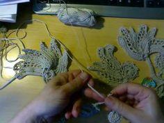 Knitting drone. Фильм вязание на бурдоне.wmv