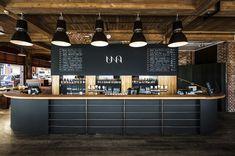 p/branding-branding-una-restaurant-und-mikrobrauerei - The world's most private search engine Pub Design, Brewery Design, Coffee Shop Design, Retail Design, Store Design, Logo Design, Cafe Restaurant, Restaurant Design, Bar Deco
