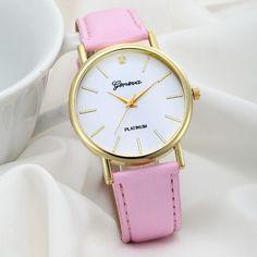bc46bd5b7a7 Analog Geneva Quartz Wrist Watch. Relógios De PulsoRelógios  FemininosRelógios ...