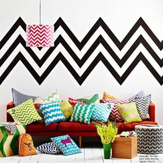 Missoni-Inspired Chevron Patterns