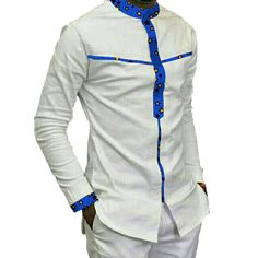 Africa Festive Clothing Ankara African Print Tops Long Sleeve print – Excellent Life Styles Source by fousseynisoba dresses for men African Shirt Styles, African Wear Styles For Men, African Print Shirt, African Shirts For Men, African Dresses For Kids, African Attire For Men, African Clothing For Men, African Suits, Ankara Clothing