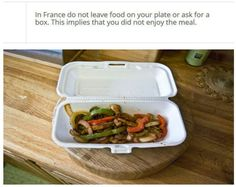 food manners per country