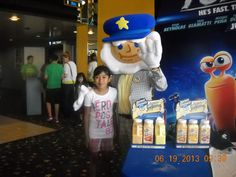 The Kernel from @Kernel Seasons visiting our Cinema 12 Theatre during Wednesday Morning Movie Series
