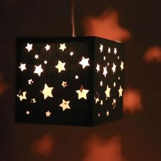 Sleepovers will be popular at your house when you hang this cool DIY paper lantern in your child's bedroom.