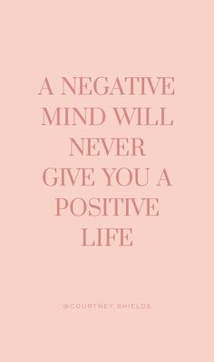 negative mind will never give you a positive life. quote mantra affirmation in . A negative mind will never give you a positive life. quote mantra affirmation in .,A negative mind will never give you a positive life. quote mantra affirmation in . Motivacional Quotes, Motivational Quotes For Women, Woman Quotes, Funny Quotes, Life Quotes, Quotes Inspirational, Funny Monday Quotes, Inspiring Quotes For Women, Motivational Quotes For Life Positivity