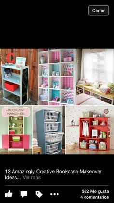 Organizar creativo espacios decoración