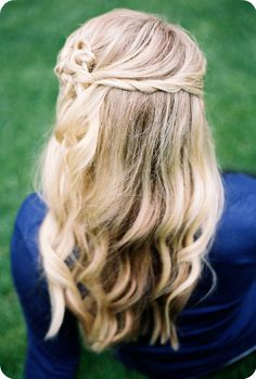 Knot Hairstyle from My Yellow Sandbox