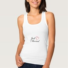 Just Married T Shirts Tank Tops