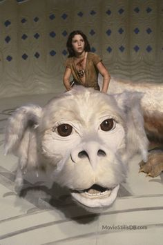 The Never-Ending Story is a movie that is intentionally full of symbols, and many of them had a lingering impact on us. Chief among them was probably Falcor the wish-dragon, especially Atreyu with Atreyu astride his back. Movies Of The 80's, Great Movies, Pet Sematary, Childhood Movies, My Childhood, Neverending Story Movie, 1980s Kids, Children's Films, Dragon Movies