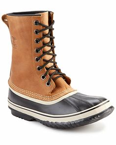 """Some of you have to get in on this: Sorel Men's """"1964 Premium"""" Leather Waterproof Boot"""