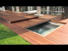 Folding Floor A Folding Swimming Pool Cover By Agor