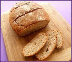 Pan en pyrex con harina integral Thermomix