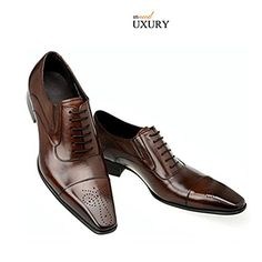56a8e44460d0 men dress shoes wedding business vintage Carved Designer black italian  fashion genuine leather shoes men footwear