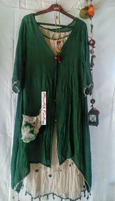 Otantik İkili Yeşil Krem Elbise – OE070717 | Otantik Kadın, Otantik Giysiler, Elbiseler,Bohem  HER HAKKI SAKLIDIR. İZİNSİZ OLARAK KOPYALANAMAZ, TAKLİT EDİLEMEZ, KULLANILAMAZ. YASAL YOLLAR AÇIKTIR