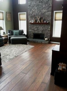 white oak rustic flooring, naturally protected with Polyx Oil by Colonial Plank Floors