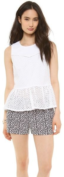 Juicy Couture Eyelet Top on shopstyle.com