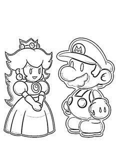 Guarda tutti i disegni da colorare di Super Mario www