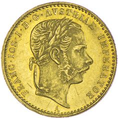 Franz Joseph I. 1848 - 1916 Dukat 1868 A Gold