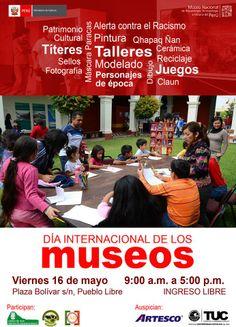 Dia Internacional de los Museos - talleres en MNAAHP