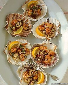 Grilled Seafood Salad Recipe