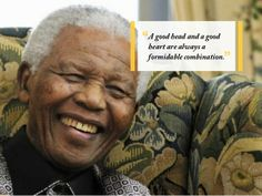 Inspirerende quote van een inspirerend man.