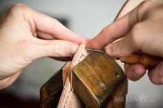 How to Make a Leather Holster - Mr. Diy Leather Holster, Leather Projects, Leather Crafts, Leather Front Pocket Wallet, Single Action Revolvers, Gun Holster, Sewing Leather, Leather Tooling, How To Make